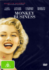 Marilyn Monroe - Monkey Business on DVD