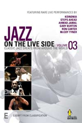 Jazz Legends Live! From Around The World (Volume 3) on DVD