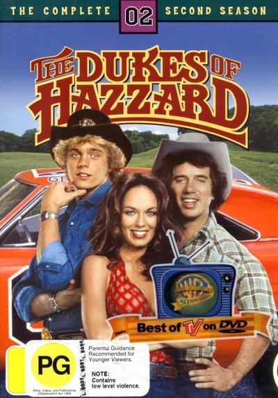 Dukes of Hazzard, The - Complete Season 2 on DVD