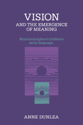 Vision and the Emergence of Meaning by Anne Dunlea