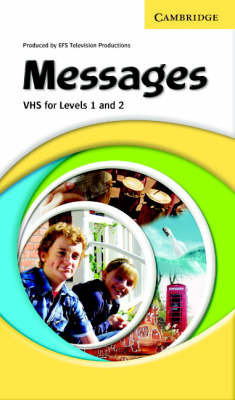 Messages Levels 1 and 2 Video VHS (PAL) with Activity Booklet by EFS Television Production