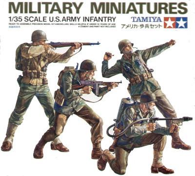 Tamiya U.S. Army Infantry Set 1:35 Model Kit