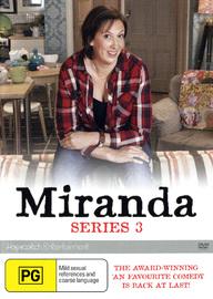 Miranda - Series 3 on DVD image