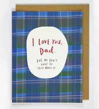 Emily McDowell - Love you Dad Card