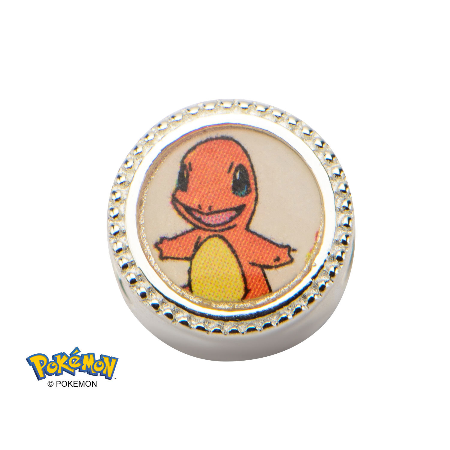 Pokemon Charmander Sterling Silver Charm Images At Mighty