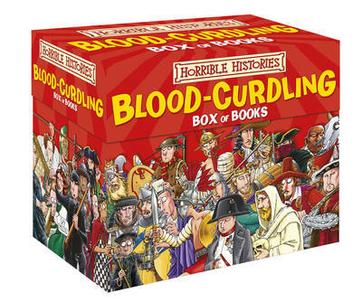 Horrible Histories Box Set: Blood-curdling Box (20 books) by Terry Deary image