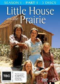 Little House on the Prairie - Season 1: Part 1 (3 Disc Set) on DVD image