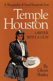 Temple Houston Lawyer with a Gun by G. Shirley image