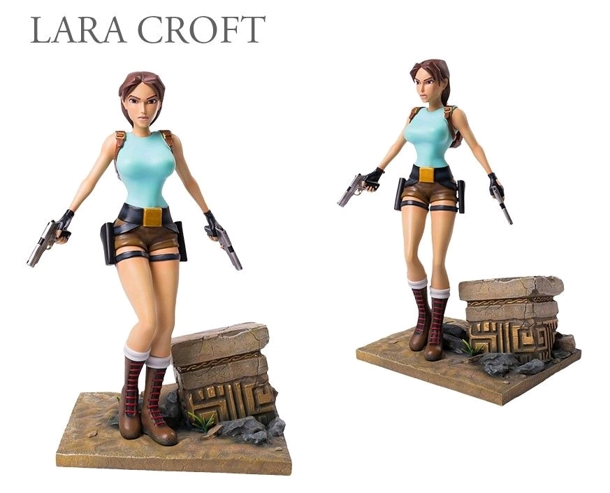 "Tomb Raider: Lara Croft - 14"" Collectors Statue image"