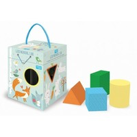 Sassi Junior: Good Morning Cube - Shape Sorting Box