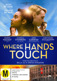 Where Hands Touch on DVD image