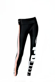 Puma: Silver Ferns Training Tights Black/Peach (152) image