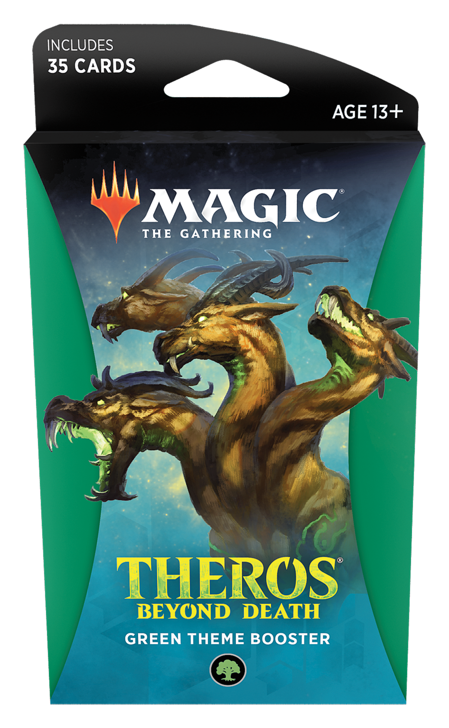 Magic The Gathering: Theros Beyond Death Theme Booster- Green image