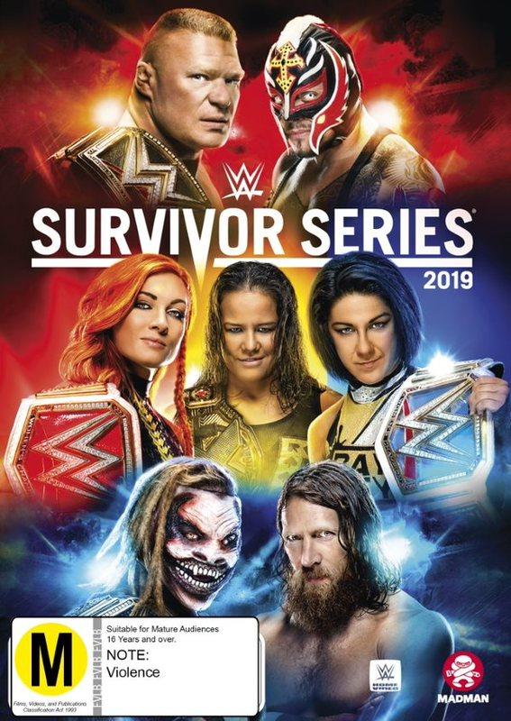 WWE: Survivor Series 2019 on DVD