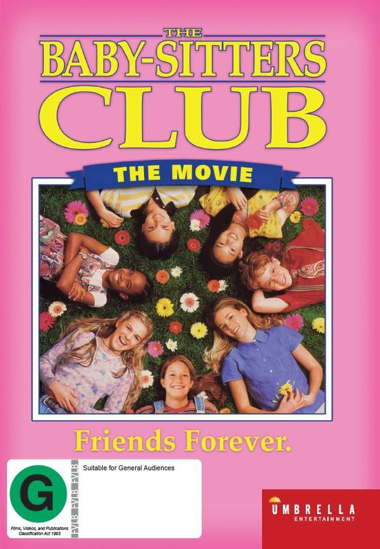 The Babysitters Club: The Movie on DVD
