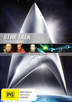 Star Trek VII: Generations on DVD
