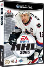NHL 2005 for GameCube