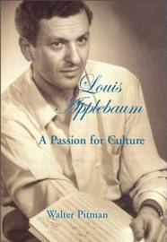 Louis Applebaum by Walter Pitman image