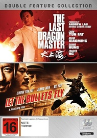 Let The Bullets Fly / The Last Dragon Master Double Pack on DVD