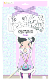 Doll to Paint - Rose