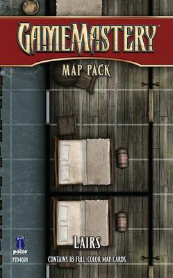 Gamemastery Map Pack: Lairs by Corey Macourek