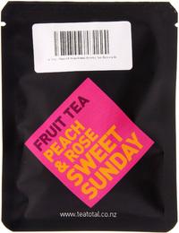 Tea Total - Peach & Rose Sweet Sunday Tea (Sample Bag)