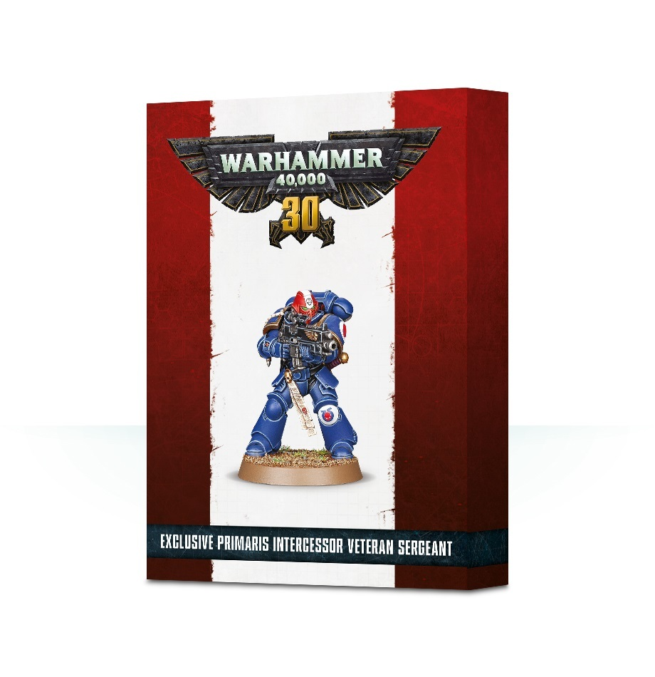 30 Years of Warhammer 40,000: Primaris Veteran Sergeant image