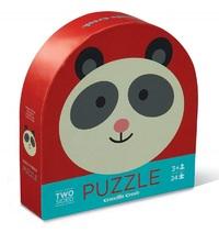 Crocodile Creek: Two-Sided Puzzle - Panda Friends image
