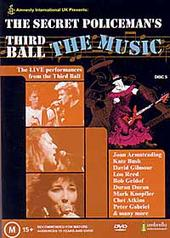 The Secret Policeman's Third Ball: The Music on DVD
