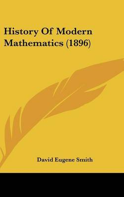 History of Modern Mathematics (1896) by David Eugene Smith image