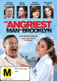 The Angriest Man in Brooklyn on DVD