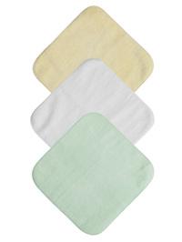 Mum 2 Mum Face Washer - Pastel Pack (6 Pack)