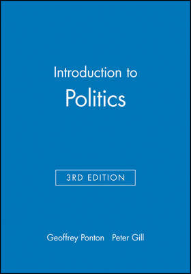 Introduction to Politics by Geoffrey Ponton image