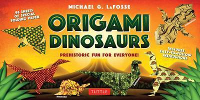 Origami Dinosaurs Kit by Michael G LaFosse