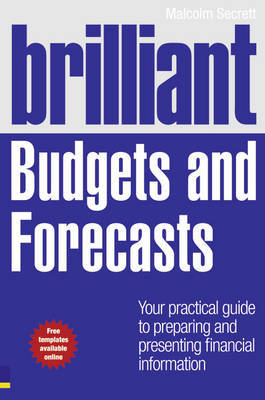 Brilliant Budgets and Forecasts by Malcolm Secrett image