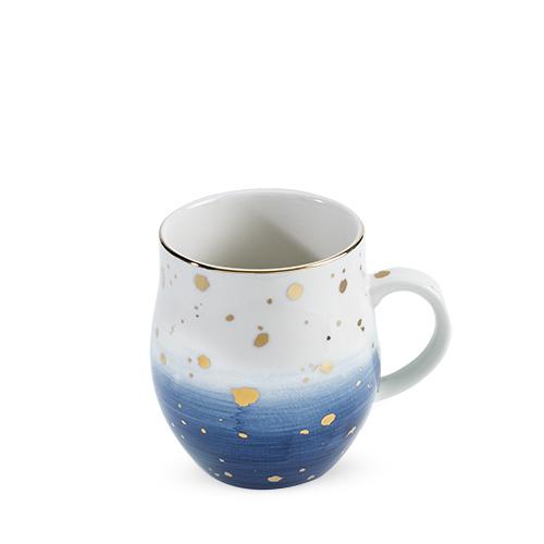 Brynn Blue Speckle Ceramic Mug