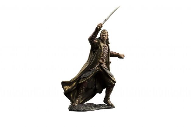 The Hobbit: Lord Elrond Of Rivendell: Dol Guldur - Environment Statue