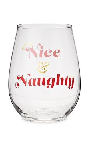Blush: Nice & Naughty - Stemless Wine Glass