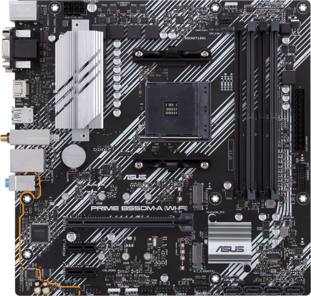 ASUS Prime B550M-A (Wi-Fi) mATX AM4 Motherboard