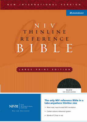 NIV Thinline Reference Bible image