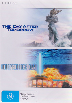 The Day After Tomorrow / Independence Day (2 Disc Set) on DVD