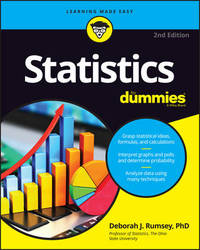Statistics For Dummies by Deborah J. Rumsey