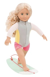 "Our Generation: 18"" Deluxe Doll - Coral Surfer"
