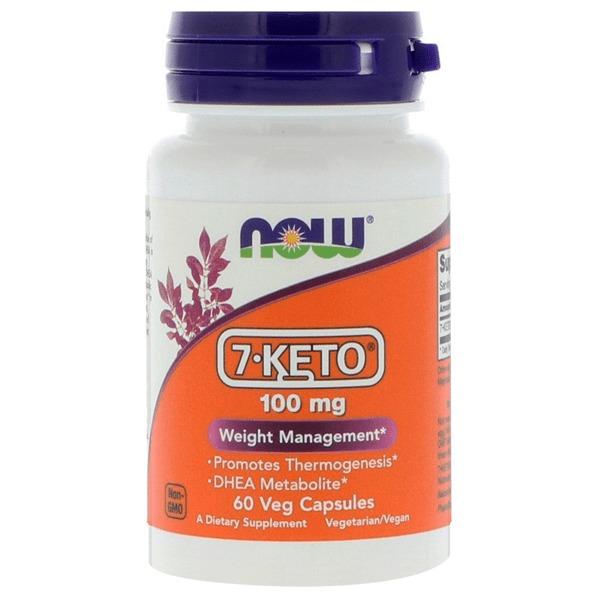 Now Foods 7-KETO (100mg) image