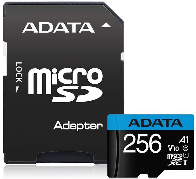 256GB Adata Premier A1 Class Smartphone MicroSD
