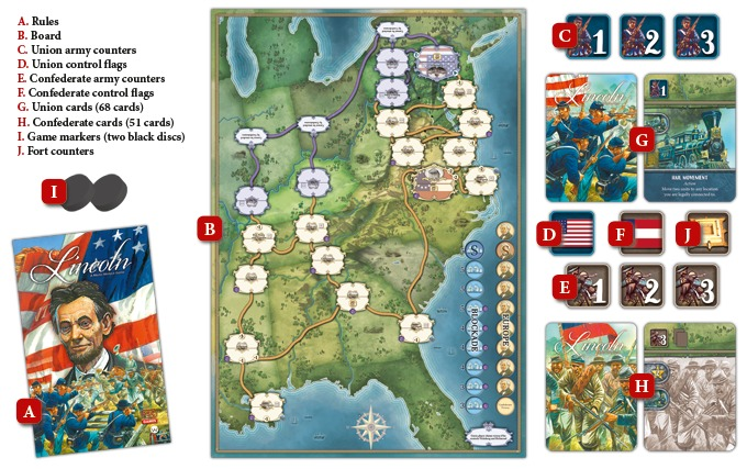 Lincoln - The Board Game image