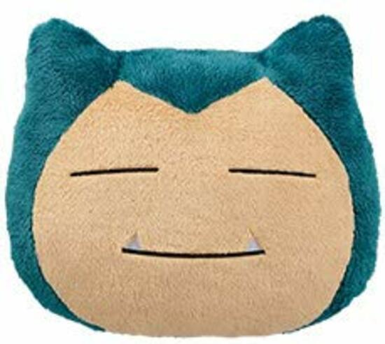 Pokemon: Big Snorlax Face Cushion: Sleeping - Plush