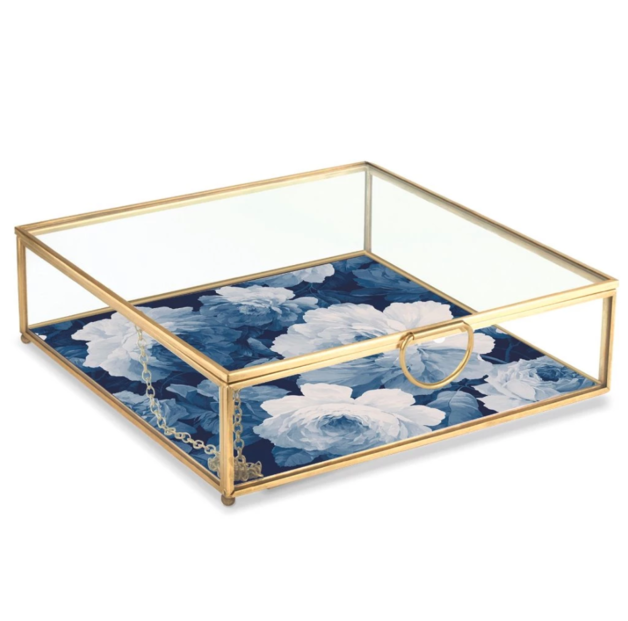 Garland Scatter Square Glass Box (Large)
