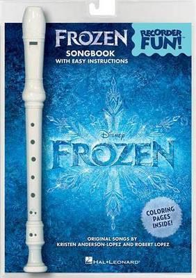Frozen Recorder Fun by Robert Lopez image