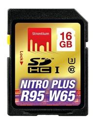 16GB Strontium NITRO Plus Series SD Card